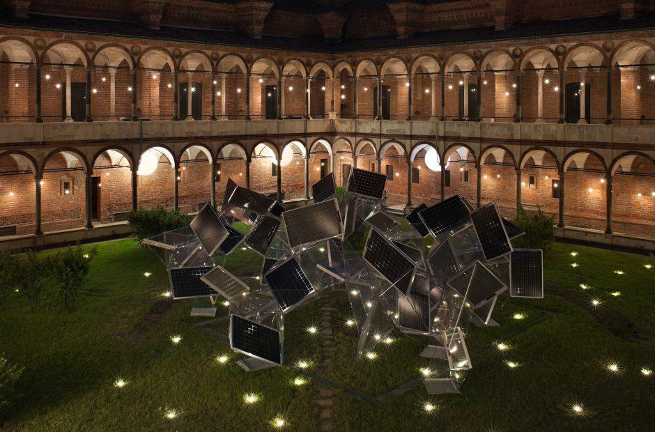 """ミラノサローネ2012パナソニック  """"Photosynthesis-光合成""""メイン画像"""