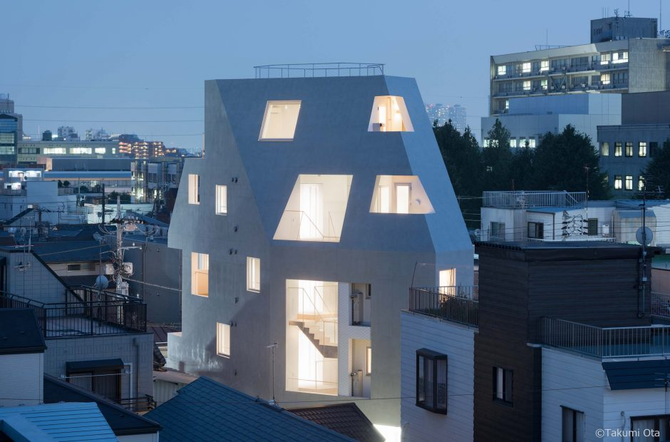 北千束の集合住宅サブ画像