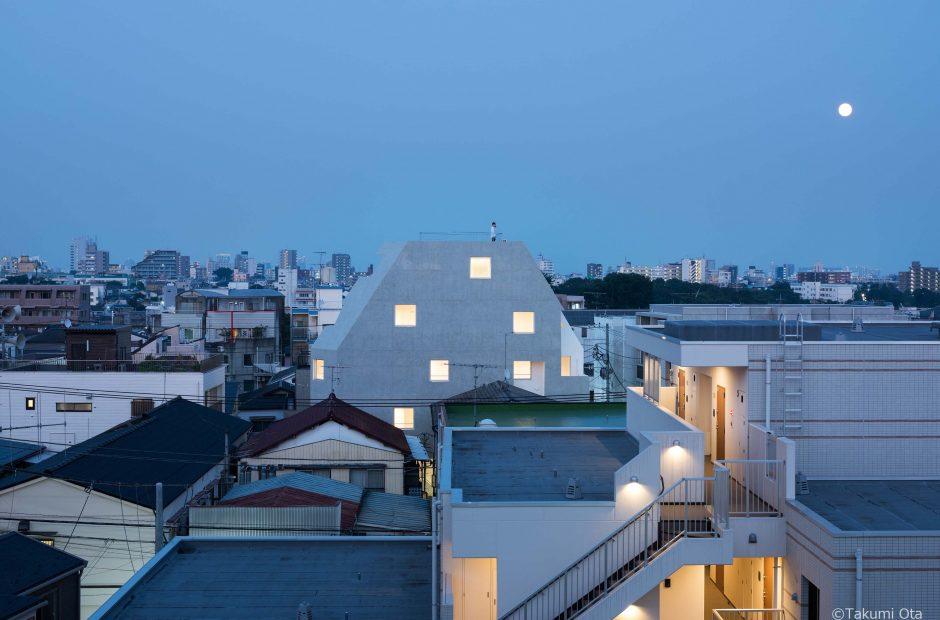 北千束の集合住宅メイン画像